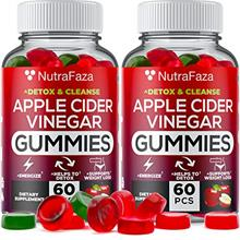 (2 Pack) Apple Cider Vinegar Gummies with Mother for Immunе Support - Vegan -