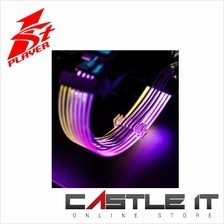 1ST PLAYER RGB PSU Cable PCI-E P8(6+2) RGB EXTENSION CABLE