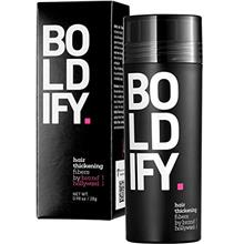 BOLDIFY Hair Fibers for Thinning Hair (MEDIUM BROWN) Undetectable  & Natural -