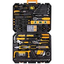 198 Piece Mechanics Tool Set Socket Wrench Auto Repair Tool Combination Mixed