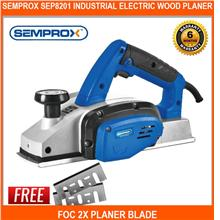 Semprox Sep8201 Industrial Electric Wood Planer Foc 2x Planer Blade