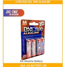 4 PIECE(s) Dxl Two Alkaline Aaa / Aa Battery L - [AA ALKALINE BATTERY]