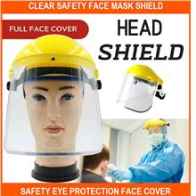 Clear Safety Face Mask Shield Safety Eye Protection Face Cover Visor P