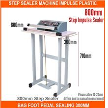 Step Sealer Machine Impulse Plastic Bag Foot Ped - [800MM STEP SEALER]