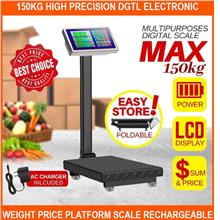 150kg High Precision dgtl Electronic Weight Price Platform Scale Recha