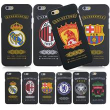 iPhone 5 5S 6 6S / Plus Soccer Team Club Logo Phone Case Cover Casing