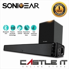 SonicGear BT5500 Bluetooth 5.0 SoundBar With Wireless Subwoofer TV Sou