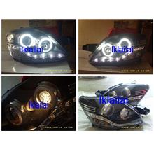 EAGLE EYES Toyota Vios '07-11 CCFL Projector Head Lamp [TRANSFORMER] [