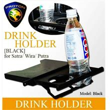 WIRA/SATRIA/GTI/PUTRA Black /Carbon Color Drink Holder
