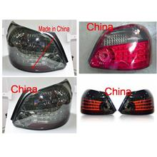 Toyota Vios '07-12 / YARIS '08 Tail Lamp Crystal LED Smoke