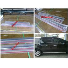 Toyota WISH '13 Door Moulding Chrome