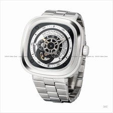 SEVENFRIDAY P1B/01M P-Series Automatic SS Bracelet Black