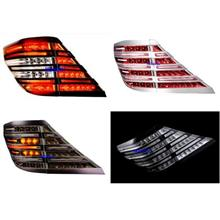 EAGLE EYES ALPHARD VELLFIRE 08'-11LED Red/GOLD/CHROME Tail Lamp