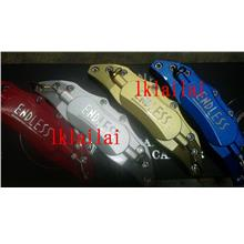 ENDLESS Brake Caliper Cover RED/BLUE/GOLD/Silver [STRONG ALLOY MADE]