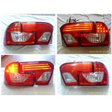 Proton Wira GCI LED Light Bar Tail Lamp [Red-Clear Lens]