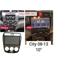 HONDA CITY '08-12 10' ANDROID Player GPS MP3/4/5 USB OEM PnP