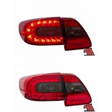 TOYOTA ALTIS '11-12 LED TAIL LAMP Red/Smoke [TL-189]
