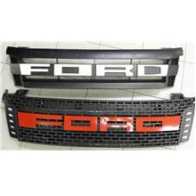 Ford Ranger V1 T6 Front Grille [White / Red / Black Wording]