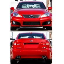 Lexus IS250 '06 F Sport Style Front & Rear Bumper Taiwan PP Material