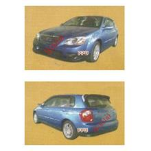 Kia Spectra 5 Full Set Body Kit / Skirting / Spoiler [Painted]