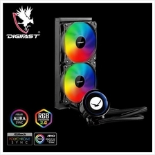 Digifast AIO Notos Liquid CPU Cooler N24 Sync AMD Intel