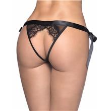CELLY (M-3XL) Plus Size Sexy Lace-up Black Panty (CSOH P5133-1P)