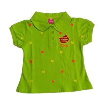 Kids girls multiple colors polo shirts