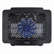 Cool Cold Laptop Cooling Pad Laptop Fan Cooler for 14'' Laptop Black