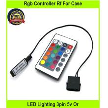 RGB Controller Rf For Case LED Lighting 3pin 5v Or 4p - [4PIN 12V RGB]