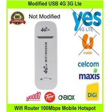 Modified USB 4G 3G Lte Wifi Router 100Mbps Mobile - [USB WIFI ROUTER]