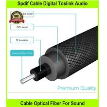 Spdif Cable dgtl Toslink Audio Cable Optical Fiber For Sound Ba - [1M]