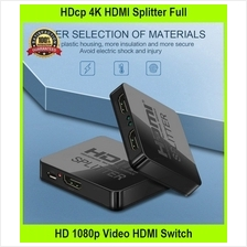 HDcp 4K HDMI Splitter Full HD 1080p Video HDMI Switch Switcher 1x2 Spl