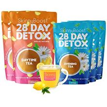 Skinny Boost 28 Day Detox Bundle- 2 Daytime Teas (28 Tea Bags) 3 Evening Tea (