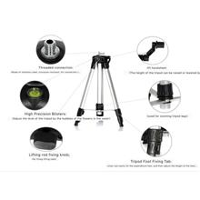 12 Lines 3D Laser Level Self-leveling 360 Horizontal Vertic - [TRIPOD]