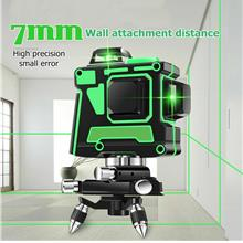 360 Rotary 3D Green Laser Level 12 Lines Self Leveling Cross Measure T