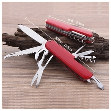 9 In 1 Swiss Camping Multifunction Tools Pocket Hunting Survival