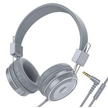 Baseman On Ear Headphones with Mic, Wired Head Phones for Laptops Computer Cel