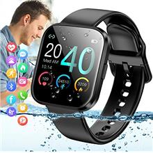 Smart Watch,Bluetooth Smartwatch Touch Screen Sports Activity Tracker Ftiness