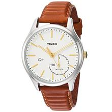 Timex Men's IQ+ Move Activity Tracker Leather Strap Smart Watch-US