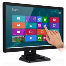 VIEWSONIC 24' TOUCH SCREEN LED MONITOR (TD2421) VGA/DVI/SPK