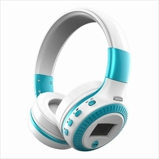 B19 Wireless Stereo Bluetooth Headsets Headphone LCD Display With Mic
