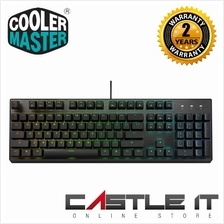 COOLER MASTER CK350 RGB MECHANICAL GAMING KEYBOARD (BLUE SWITCH) (CK-3
