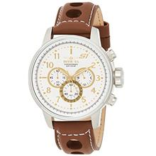 "Invicta Men's 16010 S1 ""Rally "" Stainless Steel Watch with Brown Le"
