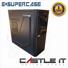 E-SUPERCASE VALUE 3115 BLACK ATX GAMING CASING
