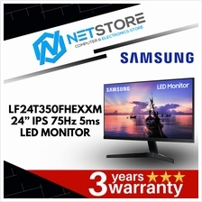 "SAMSUNG 24"" IPS LED VGA HDMI MONITOR LF24T350FHEXXM - 75Hz, 5ms"