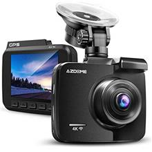 AZDOME UHD 4K Dash Cam 2160P, GPS WiFi Dashboard Car Camera DVR Recorder with