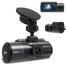Vantrue N4 3 Channel Dash Cam, 1440P+1080P+1080P Front, Inside and Rear Triple
