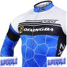 Bicycle Cycling Long Sleev Pants Jersey Suit Cushion Clothings Shirt