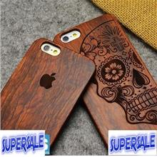 iPhone 6 4.7' Real Wood Craved CASE CASING COVER