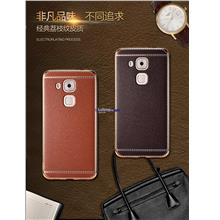 Huawei Honor 5A Lychee Leather Pattern Electroplating Back Case Cover